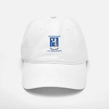 DUI - 1st Bn - 77th Armor Regt with Text Baseball Baseball Cap