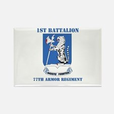 DUI - 1st Bn - 77th Armor Regt with Text Rectangle