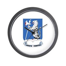 DUI - 1st Bn - 77th Armor Regt Wall Clock