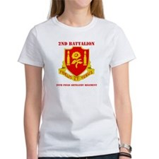 DUI - 2nd Bn - 29th FA Regt with Text Tee