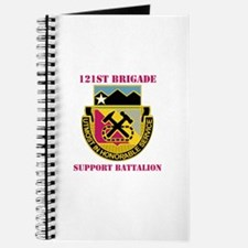 DUI - 121st Bde - Support Bn with Text Journal