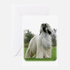 Afghan Hound 9Y247D-025 Greeting Card