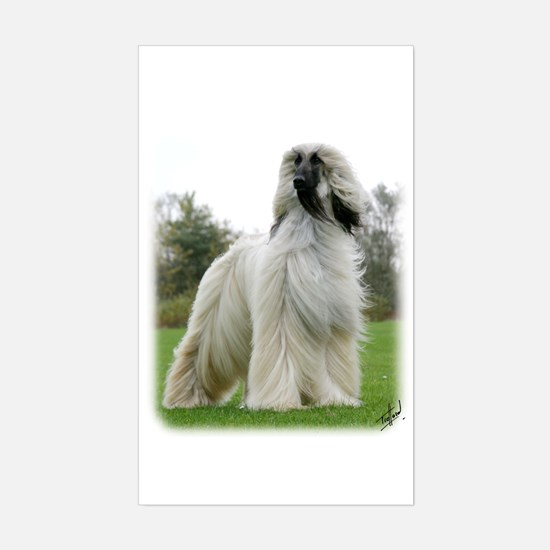 Afghan Hound 9Y247D-025 Sticker (Rectangle)
