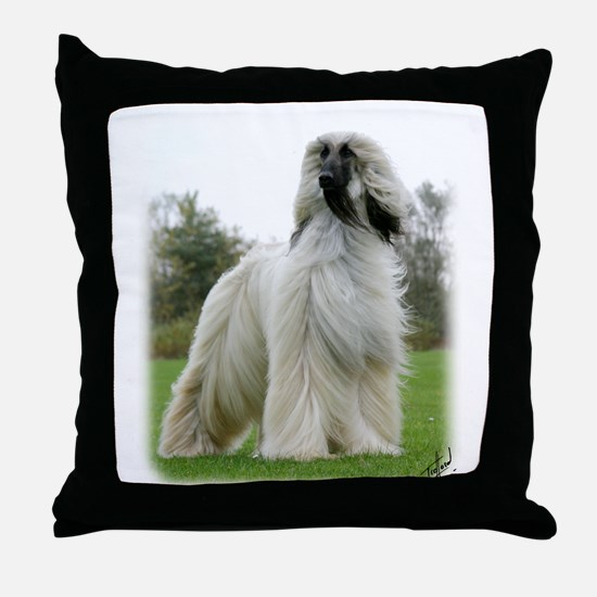 Afghan Hound 9Y247D-025 Throw Pillow