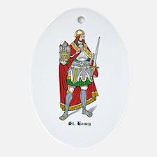 St. Henry Oval Ornament
