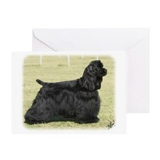 American Cocker Spaniel 9Y659D-172 Greeting Card