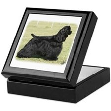 American Cocker Spaniel 9Y659D-172 Keepsake Box