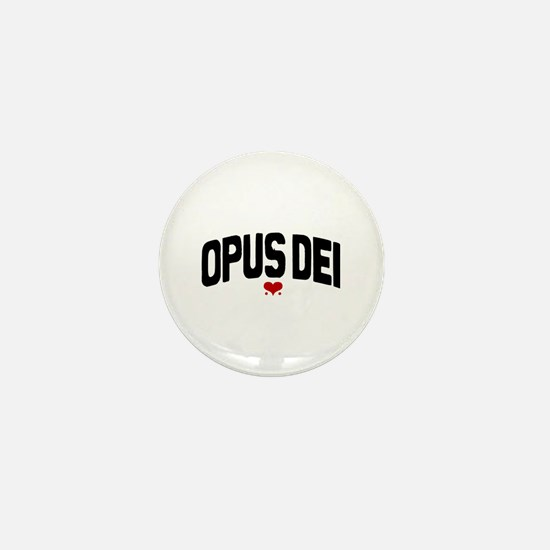 OPUS DEI Mini Button