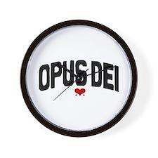 OPUS DEI  Wall Clock