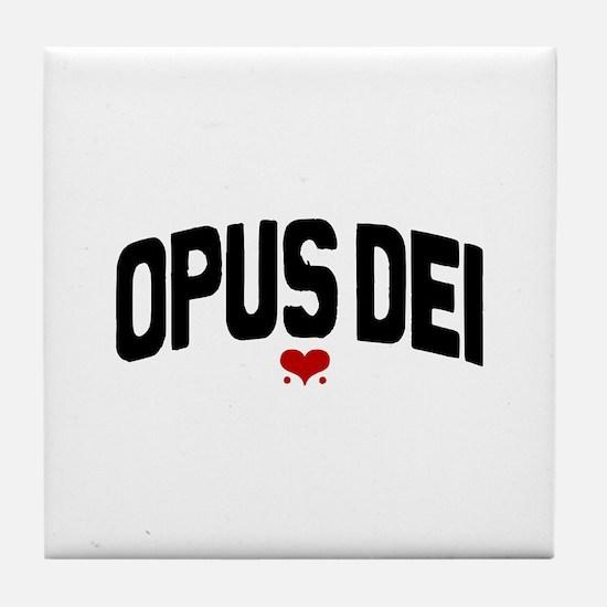 OPUS DEI  Tile Coaster