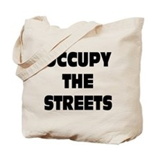 Occupy The Streets: Tote Bag