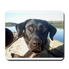 Black Labrador Retriever Mousepad