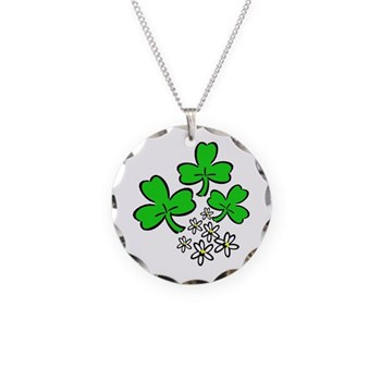 Irish Forever Necklace Circle Charm