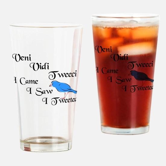 Cool Veni vidi vici Drinking Glass