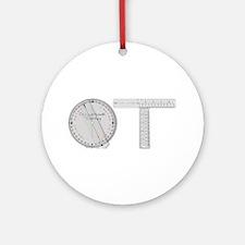 OT Goni Design Ornament (Round)