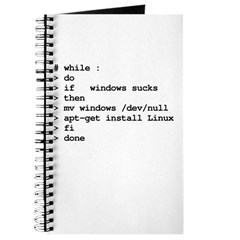 while : do if windows... Journal