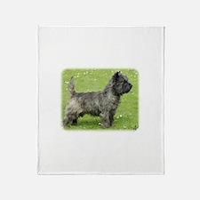 Cairn Terrier 9Y004D-024 Throw Blanket