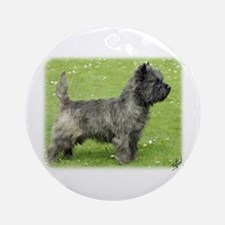 Cairn Terrier 9Y004D-024 Ornament (Round)