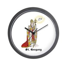 St. Gregory Wall Clock