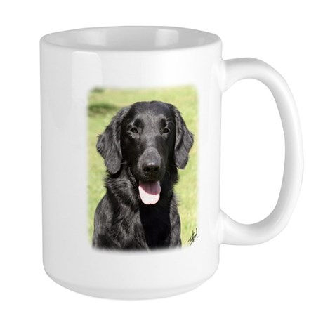 Flat Coated Retriever 9Y040D-040 Large Mug