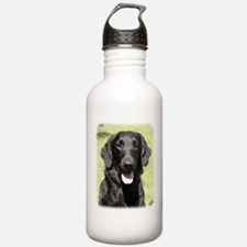 Flat Coated Retriever 9Y040D-040 Sports Water Bottle