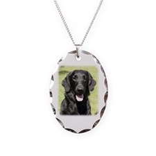 Flat Coated Retriever 9Y040D-040 Necklace