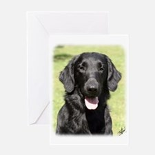 Flat Coated Retriever 9Y040D-040 Greeting Card