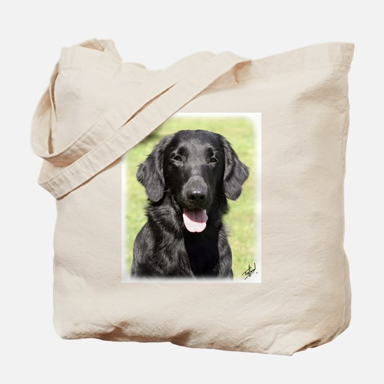 Flat Coated Retriever 9Y040D-040 Tote Bag