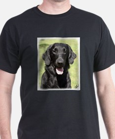 Flat Coated Retriever 9Y040D-040 T-Shirt