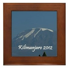 Kilimanjaro 2012 Framed Tile