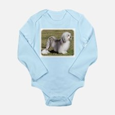Lowchen 9Y400D-014 Long Sleeve Infant Bodysuit