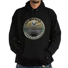 USN Navy There is No Substitu Hoodie