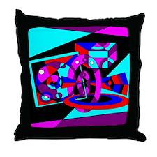Cosmos Trek Stop Throw Pillow