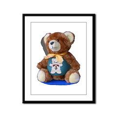 Teddy-Teddy-Teddy Framed Panel Print