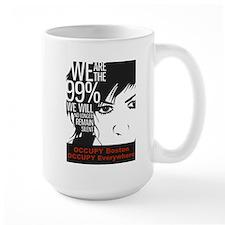 Occupy Boston Mug