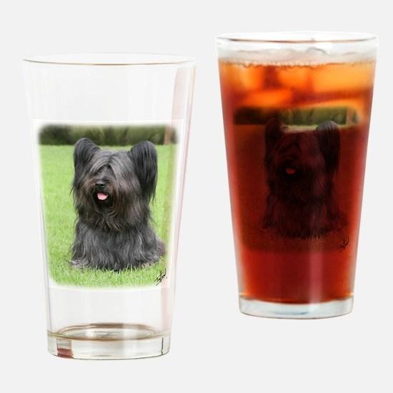 Skye Terrier 9Y766D-031 Drinking Glass