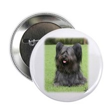 "Skye Terrier 9Y766D-031 2.25"" Button"