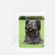 Skye Terrier 9Y766D-031 Greeting Card