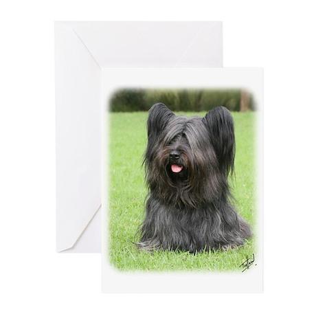 Skye Terrier 9Y766D-031 Greeting Cards (Pk of 10)