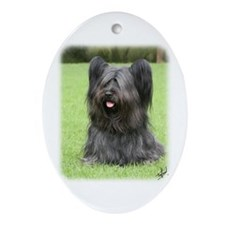 Skye Terrier 9Y766D-031 Ornament (Oval)