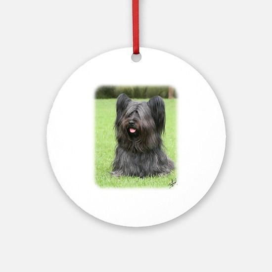 Skye Terrier 9Y766D-031 Ornament (Round)