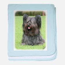 Skye Terrier 9Y766D-031 baby blanket