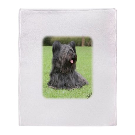 Skye Terrier 9Y766D-039 Throw Blanket