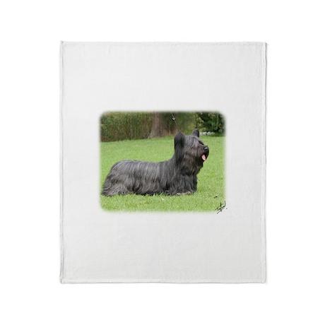 Skye Terrier 9Y766D-054 Throw Blanket