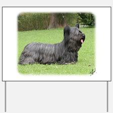 Skye Terrier 9Y766D-054 Yard Sign