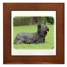 Skye Terrier 9Y766D-054 Framed Tile