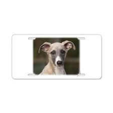 Whippet puppy 9Y558D-025 Aluminum License Plate