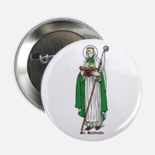 """St. Gertude 2.25"""" Button (10 pack)"""