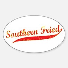SO FRIED SCRIPT Oval Decal