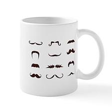 Moustache Collection Mug